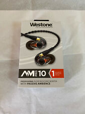 Westone AM Pro 10 Earphones Passive Ambience w/SLED Technology In-Ear Monitors