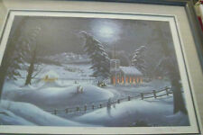 Winter Evening Worship 807/1000 artist William Perry
