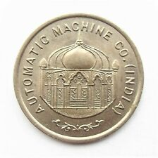 Automatic Machine Co India , Burma & Ceylon 25  Token - J H  Somerville