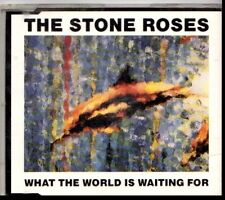 STONE ROSES WHAT THE WORLD IS WAITING FOR USED  CD SINGLE