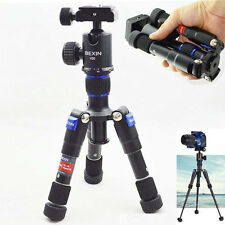 Compact Desktop Micro Mini Portable Tripod Monopod Kit With Ball Head For DSLR