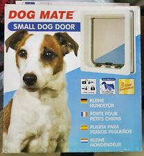 Dog Mate Multi Insulation Dog Door - White Small New