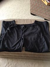 women's scrubs pants black size L nrg by Barco barely used