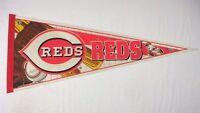 "1999 Cincinnati Reds 12"" x 30"" Edition #5 MLB Baseball Pennant Wincraft Sports"