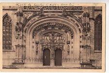 BF12198  bourg ain eglise de brou le portail france front/back image