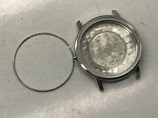 VINTAGE OMEGA SEAMASTER DATE SS CASE WATCH FOR PARTS