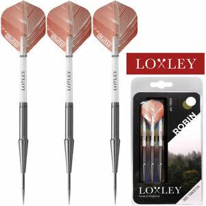 Loxley Robin Darts - 90% Tungsten - Steel Tip