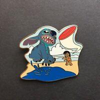 Lilo and Stitch Playing Frisbee Disney Pin 47555