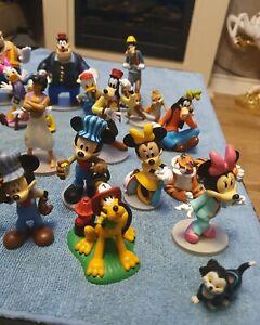 Disney figures bundle Mickey, Minnie, Donald, Daisy, Pluto, Goofy, Pete  ect