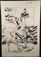 PHOENIX RESURRECTION RETURN OF JEAN GREY #5 Page 17 Original Published Art X-MEN