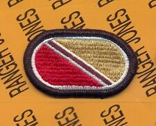 725th Support Bn Quartermaster Airborne Rigger para oval patch m/e 2-B