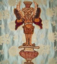 Early 19th Century French Velvet appliques de broderies, Satyre, Pan, Centaur