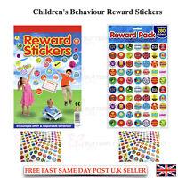 Children's Behaviour Reward Star Reward Stickers Praise Kids Preschool Fun Great