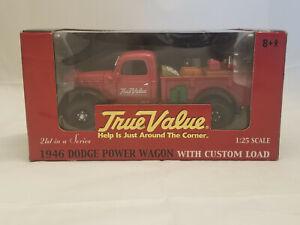 Ertl Collectibles Diecast True Value 1946 Dodge Power Wagon w/Custom Load NIB