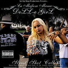 Chicano Rap CD Doll-E Girl - Street Shot Callers - Mister One Mr. Shadow Payaso