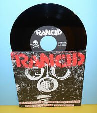 "RANCID kill the lights - 4 song ep 7"" Record punk Vinyl"