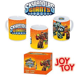 skylanders - heroes - giants - tazza in porcellana -mug- cup - originale joy toy