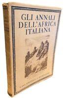 Gli Annali dell'Africa Italiana Anno V volume III [mondadori, fascismo, colonie]