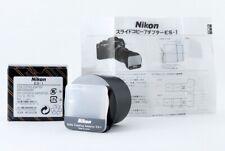 [New] Nikon Camera Slide Copy Adapter ES-1 From Japan #3124