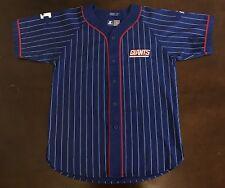 Rare Vintage Starter NFL New York Giants Baseball Pin Stripe Jersey