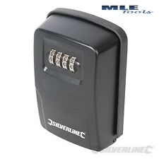 Silverline Key Safe Wall Mounted door lock 4 digit combination 309218