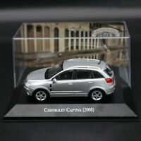 1:43 IXO Altaya Chevrolet Captiva 2008 Silver Diecast Models Limited Edition