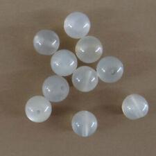 10 perles de gemme de 6 mm en pierre de lune, pierre naturelle-vtp153