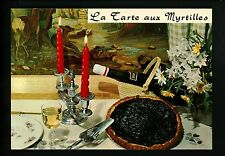 Recipe postcard WW La Tarte aux Myrtilles
