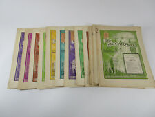 Lot of 20 The Watchtower magazines 1946 Jehovah's Witnesses Original vintage