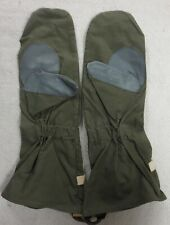 Original WW2 Vintage GERMAN WEHRMACHT Issue MOTORCYCLE GLOVES with LEATHER GRIPS
