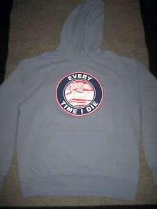 """EVERY TIME I DIE """"Buffalo Hardcore"""" Garment Dyed Champion Hoodie ONLY 150 MADE!!"""