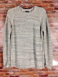 H & M Textured Knit Cotton Sweater Men's Size Medium