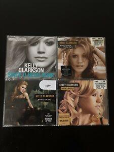4 Kelly Clarkson CD Singles Since Been Gone Hazel Eyes Because Of You Walk Away