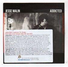 (FY645) Jesse Malin, Addicted - 2015 DJ CD