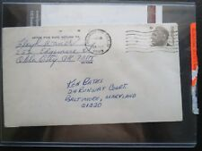 Lloyd Waner Autographed Pittsburgh Pirates Baseball HOF Signed Envelope JSA 1968
