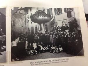 RIPRODUZIONE FOTO ALINARI FESTA DELL'UVA NEL MUGELLO FIRENZE 9X12 CM 1938 (5)