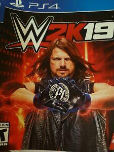 WWE 2K19 (PlayStation 4, 2018) - CIB Nearly Flawless