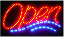 Atm/Sushi/Korean Food/ Led Open Sign Animated Neon Light Chain 19�X10�