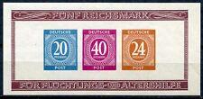 Alliierte Besetzung Block 12 B  Postfrisch KW = 60,- €