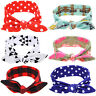 Newborn Baby Girl Toddler&Mom Turban Knot Headband Bow Headwear Hair Band