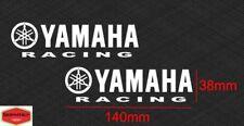2 Adesivi Yamaha Racing replica vinile prespaziato