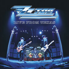 """ZZ Top : Live from Texas VINYL 12"""" Album (Limited Edition) 2 discs (2019)"""