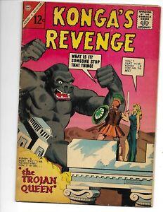 Konga's Revenge 3 VG+ (4.5) 1964 Charlton!  Steve Ditko cover and artwork!