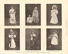 1896 ANTIQUE PRINT - TOY AND DOLL SHOW AT THE ALBERT HALL