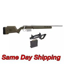 Magpul Hunter Short Action FDE Stock w/Mag Well & 5rd Magazine - Remington 700