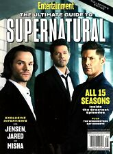 """Entertainment Magazine """"THE ULTIMATE GUIDE TO SUPERNATURAL"""" ~ All 15 Seasons NEW"""