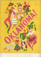 """Oklahoma!""  Original Production  Souvenir Program  Broadway 1945  Bob Kennedy"