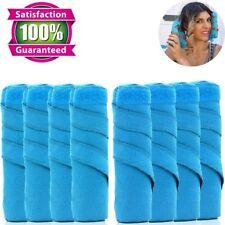 """New Sleep Hair Styling Styler 6"""" Salon Roller Curler Kit Set For Long Curly Hair"""