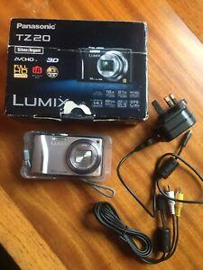 Panasonic LUMIX DMC-TZ20/DMC-ZS10 14.1MP G.P.S. HD Digital Camera 16x Opt Zoom