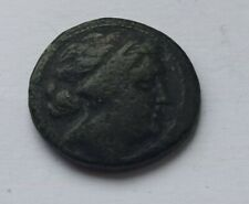 More details for ancient greek bronze coin. mesembria, thrace. /200 b.c./ athena holding shield